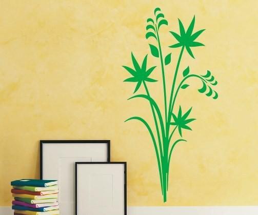 Wandtattoo - Blumenmotiv / Blumenranke - Variante 108