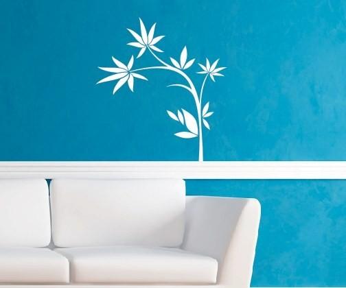 Wandtattoo - Blumenmotiv / Blumenranke | 11