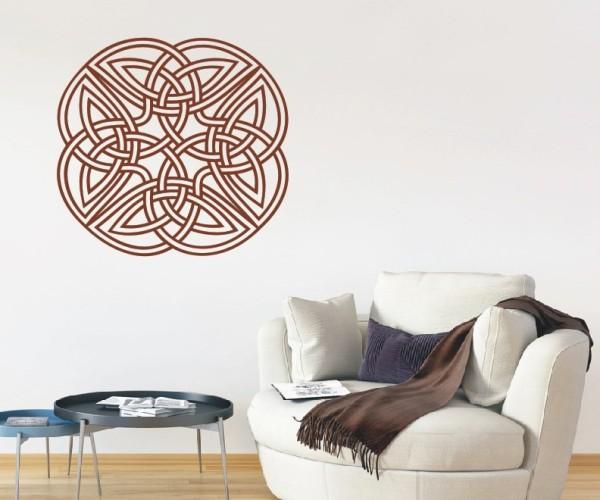 Wandtattoo - Keltische Knoten /Celtic Ornamente - Variante 16