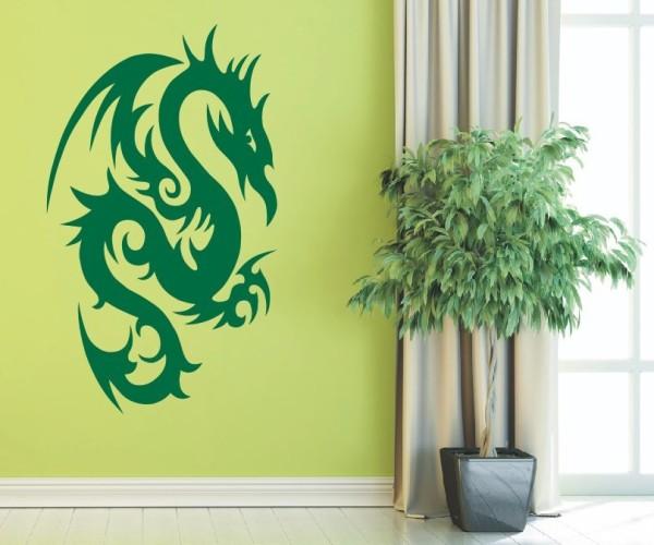 Wandtattoo - Chinesische Drachen - Variante 21