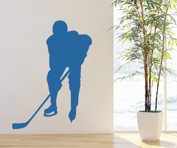 Wandtattoo - Eishockey - Silhouette / Schattenmotiv | 4