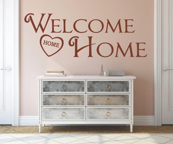 Wandtattoo - Welcome Home - Variante 9