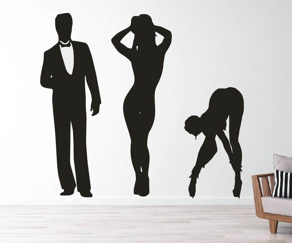 Menschen/Sexy Silhouetten
