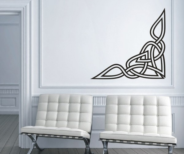 Wandtattoo - Keltische Knoten /Celtic Ornamente - Variante 19