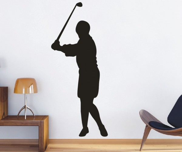 Wandtattoo - Golf - Silhouette / Schattenmotiv | 4