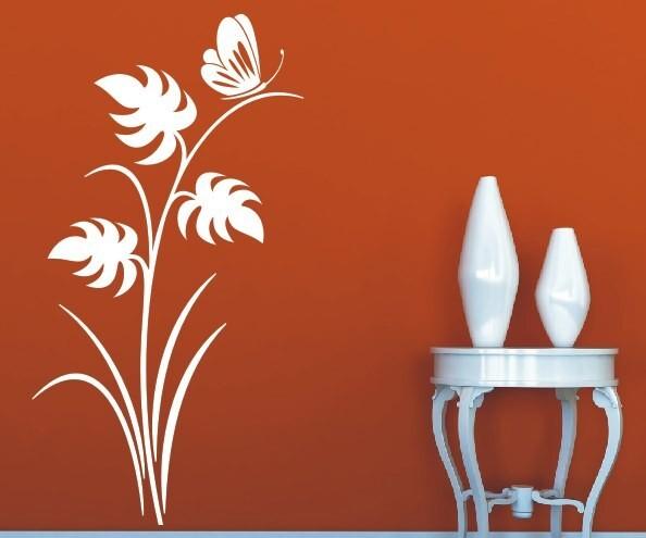 Wandtattoo - Blumenmotiv / Blumenranke   97