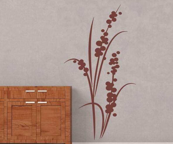 Wandtattoo - Blumenmotiv / Blumenranke - Variante 112