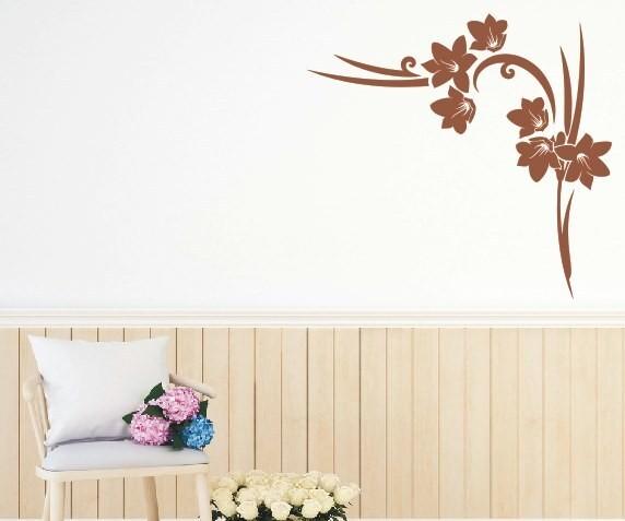 Wandtattoo - Blumenmotiv / Blumenranke | 22