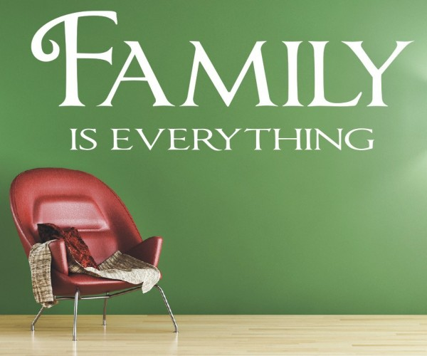 Wandtattoo - Family is everything | 10