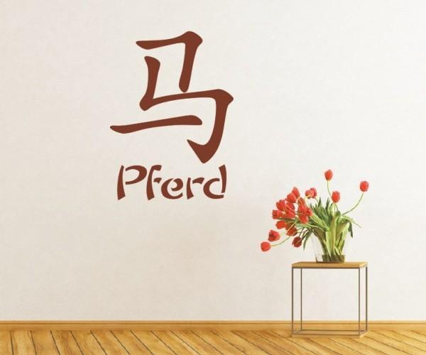 Wandtattoo - Chinesische Zeichen - Tierkreiszeichen/Sternzeichen | 3