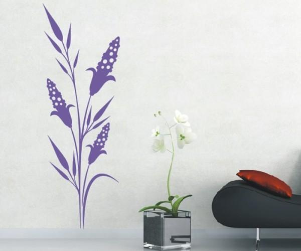 Wandtattoo - Blumenmotiv / Blumenranke - Variante 243