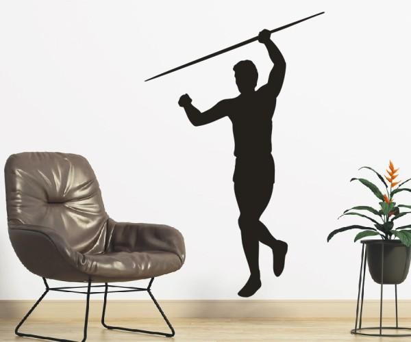 Wandtattoo - Leichtathletik - Silhouette / Schattenmotiv | 4