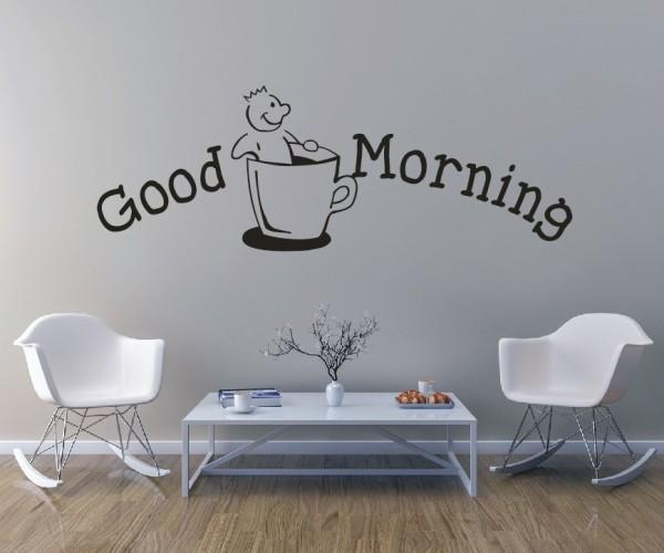 Wandtattoo - Küche - Tee Kaffee Küche Esszimmer Coffeshop Wandbild Wanddeko-22