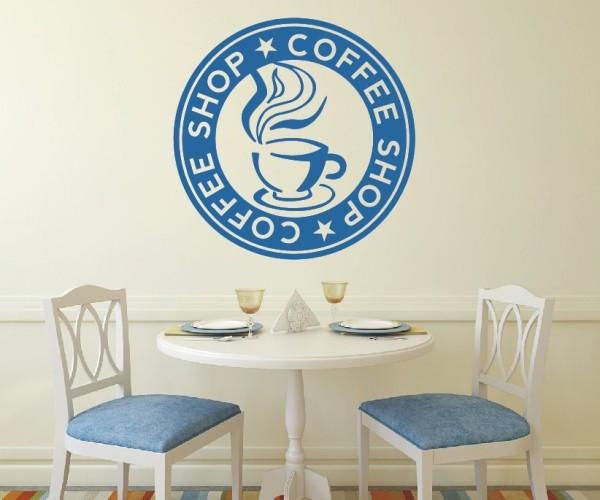 Wandtattoo - Küche - Tee Kaffee Küche Esszimmer Coffeshop Wandbild Wanddeko-6