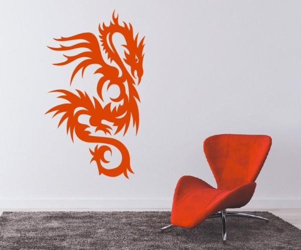 Wandtattoo - Chinesische Drachen | 25