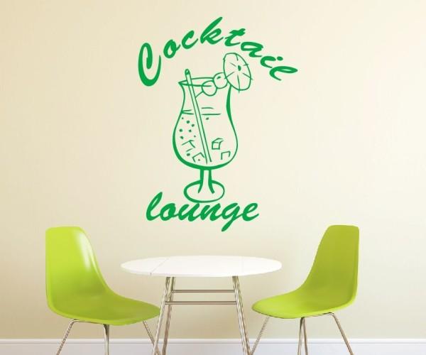 Wandtattoo - Küche - Cocktail Bar Kneipe Alkohol Tresen Wandbild Wanddeko-6