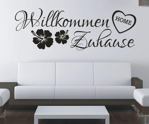Wandtattoo - Willkommen Zuhause   8