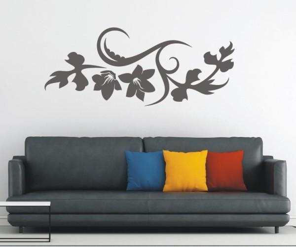 Wandtattoo - Blumenmotiv / Blumenranke | 139