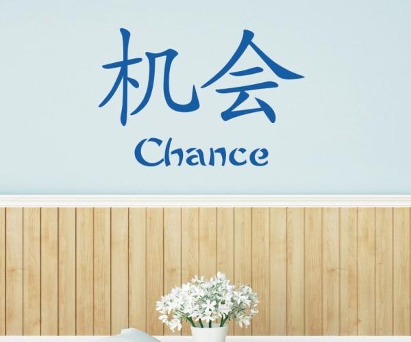 Wandtattoo - Chinesische Zeichen - Variante 40