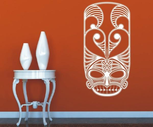 Wandtattoo - Maori - Maskenmotiv - Variante 24