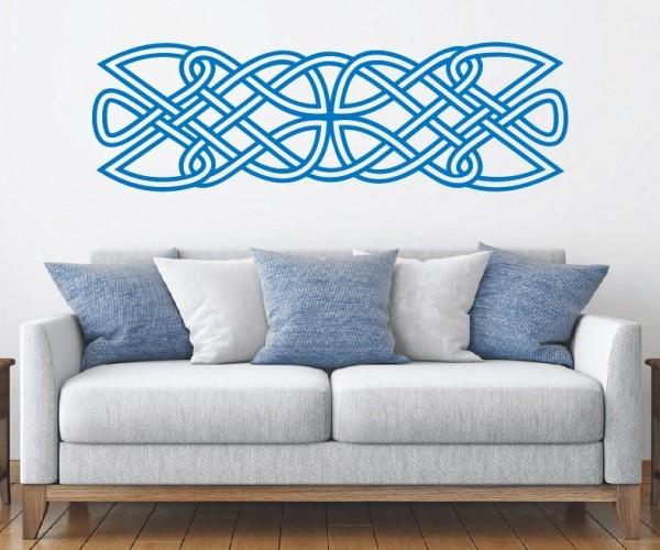 Wandtattoo - Keltische Knoten /Celtic Ornamente - Variante 84