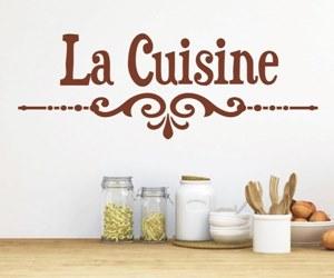 Wandtattoo Küche Esszimmer -La-Cuisine