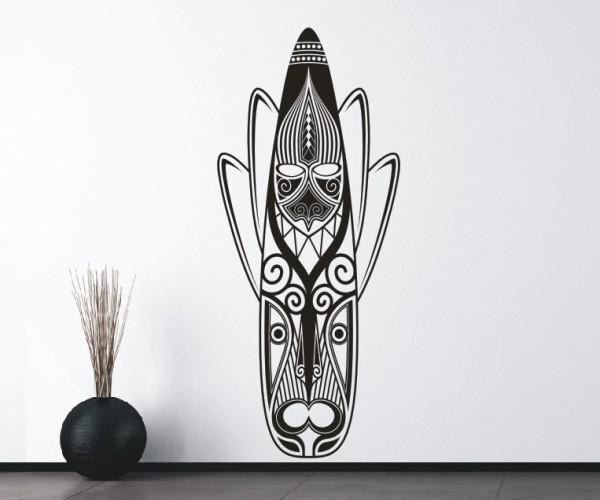 Wandtattoo - Maori - Maskenmotiv - Variante 26
