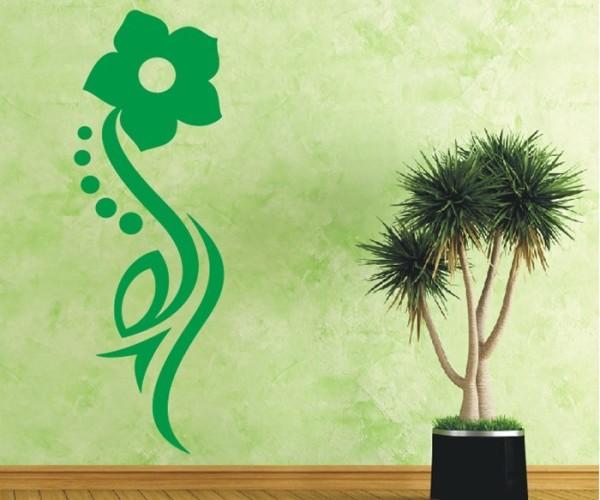 Wandtattoo - Blumenmotiv / Blumenranke - Variante 239