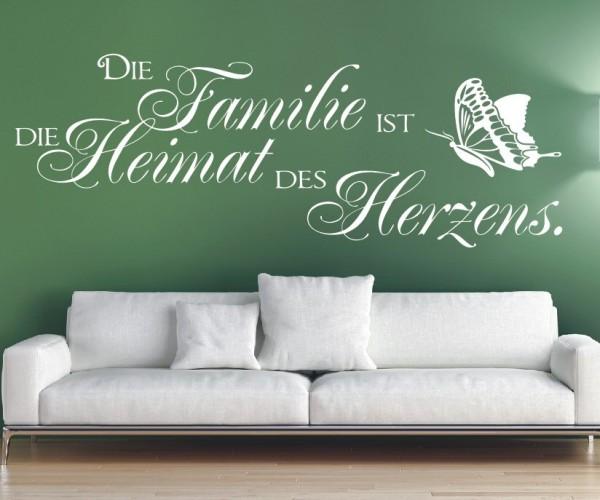 Wandtattoo - Die Familie ist die Heimat des Herzens. | 8