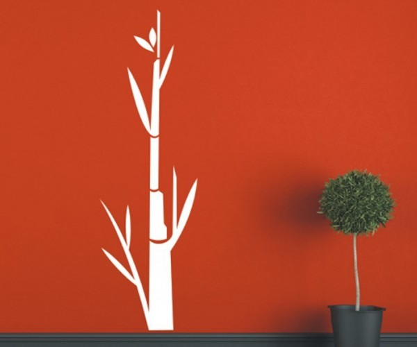 Wandtattoo - Blumenmotiv / Blumenranke - Variante 221