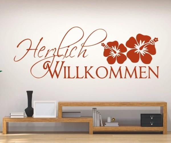 Wandtattoo - Herzlich Willkommen | 15