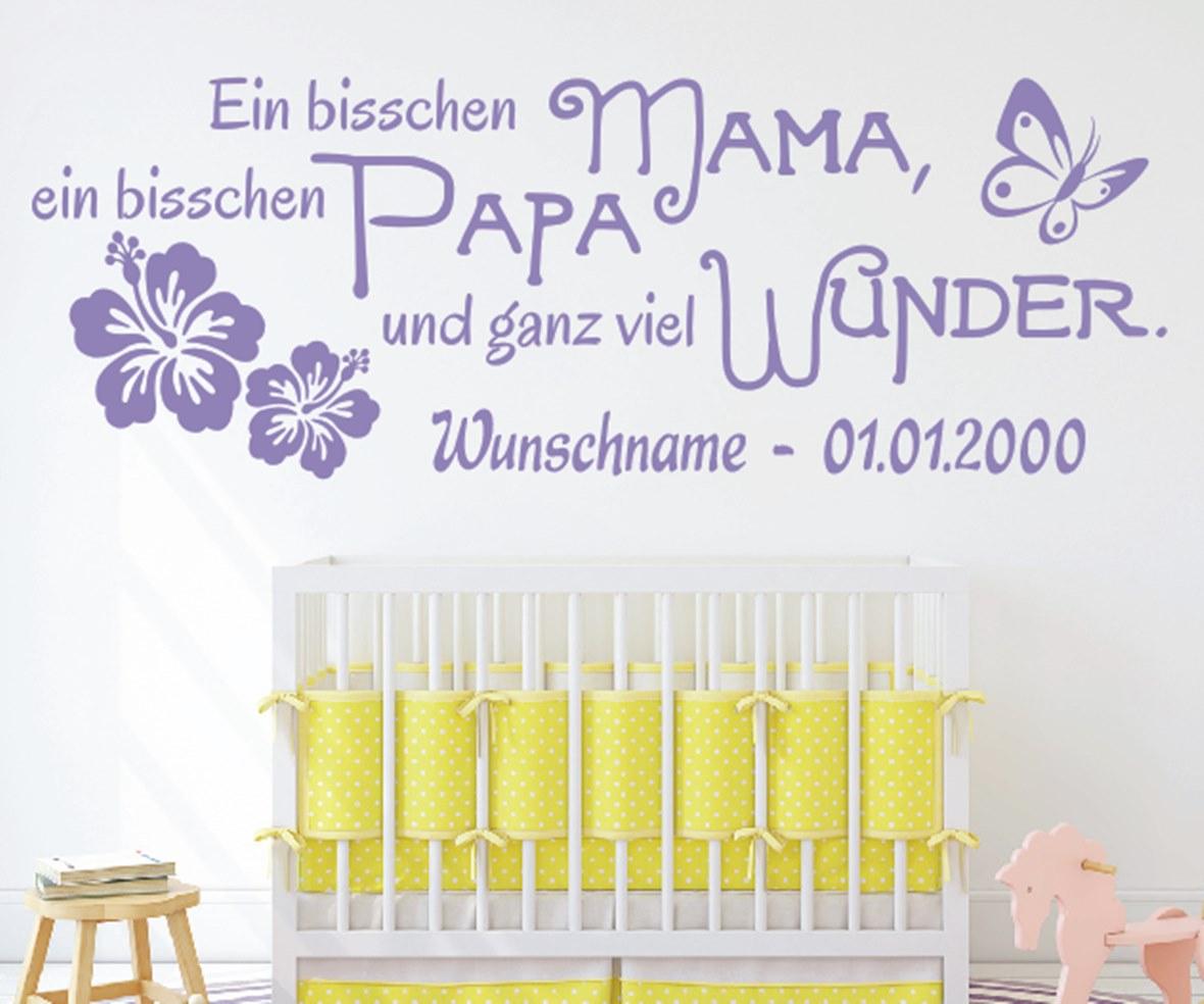 Kinderzimmer mit Wunschtext