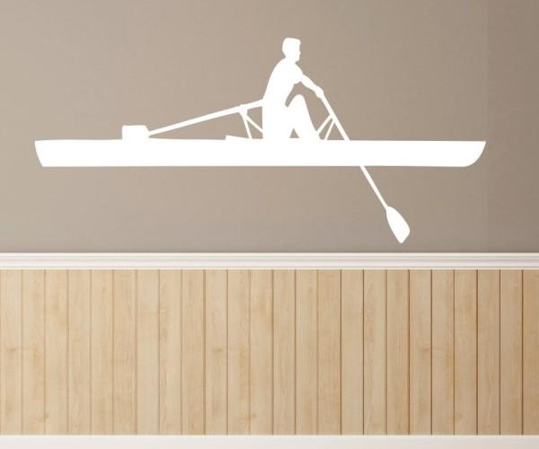 Wandtattoo - Wassersport - Silhouette / Schattenmotiv - Variante 13