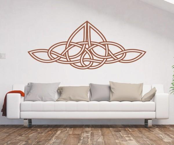 Wandtattoo - Keltische Knoten /Celtic Ornamente | 75