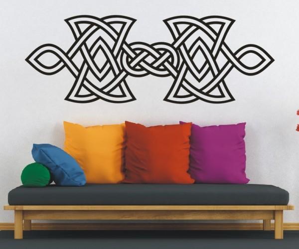 Wandtattoo - Keltische Knoten /Celtic Ornamente - Variante 80