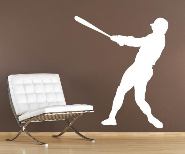 Wandtattoo - Baseball - Silhouette / Schattenmotiv | 1
