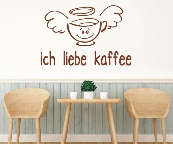 Wandtattoo - Küchen Wandtattoo - Tee Kaffee Küche Esszimmer Coffeshop Wandbild Wanddeko-13