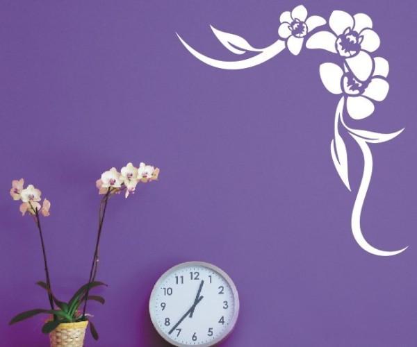 Wandtattoo - Blumenmotiv / Blumenranke   15
