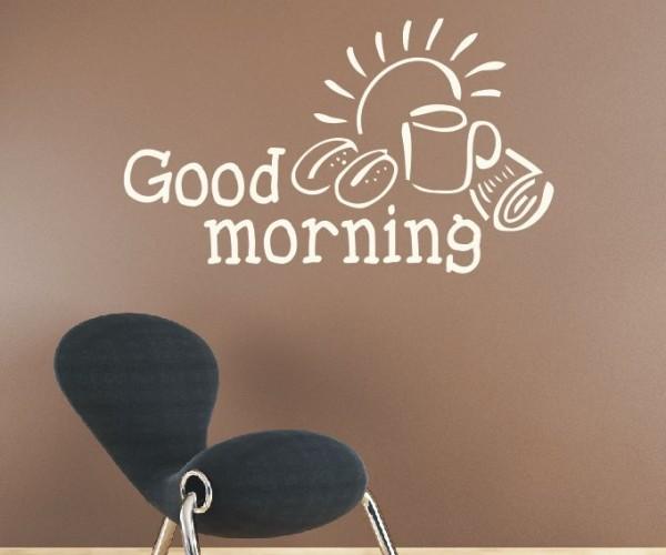 Wandtattoo - Küche - Tee Kaffee Küche Esszimmer Frühstück Wandbild Wanddeko-4