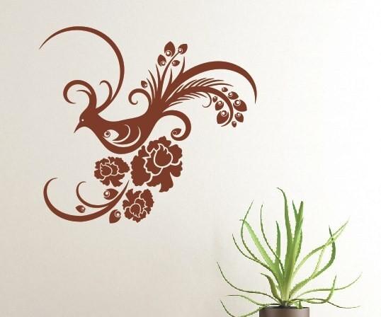 Wandtattoo - Blumenmotiv / Blumenranke - Variante 258