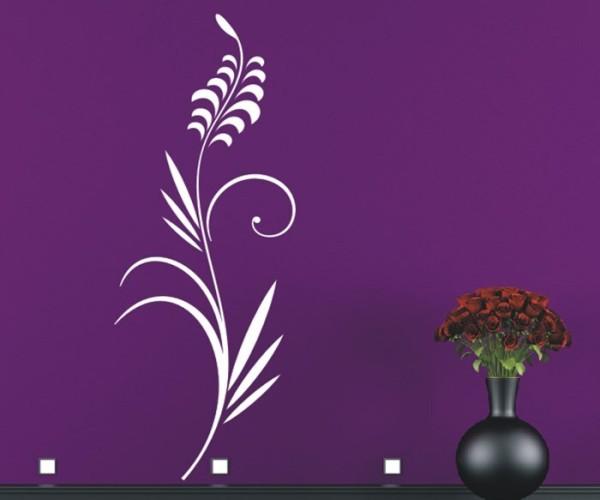 Wandtattoo - Blumenmotiv / Blumenranke - Variante 181