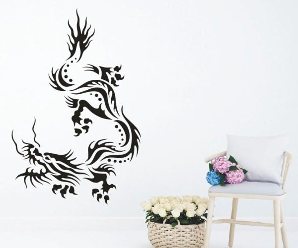Wandtattoo - Chinesische Drachen - Variante 13