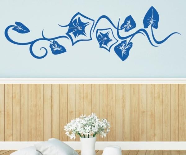 Wandtattoo - Blumenmotiv / Blumenranke - Variante 209