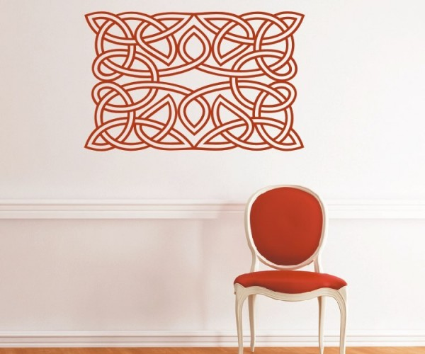 Wandtattoo - Keltische Knoten /Celtic Ornamente - Variante 47