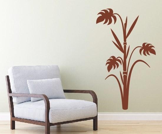 Wandtattoo - Blumenmotiv / Blumenranke | 88