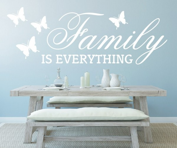 Wandtattoo - Family is everything   1