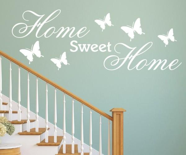 Wandtattoo - Home sweet Home - Variante 2