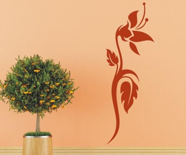 Wandtattoo - Blumenmotiv / Blumenranke - Variante 229