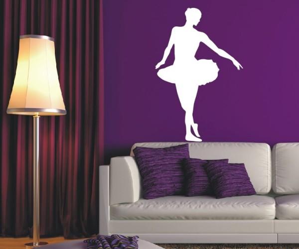 Wandtattoo - Ballett - Silhouette / Schattenmotiv | 2