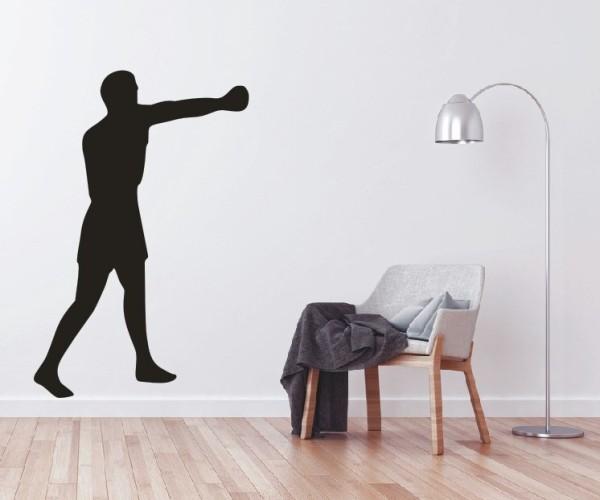 Wandtattoo - Kampfsport - Silhouetten / Schattenmotiv - Variante 12